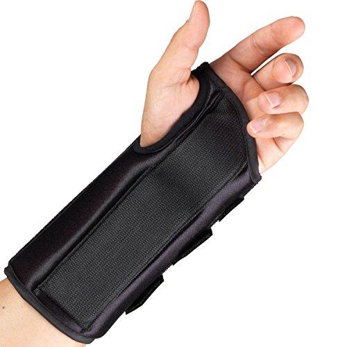 OTC Wrist Splint, 8-Inch Adult, Lightweight Breathable, Medium (Left Hand)