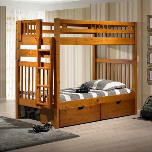 Twin/Twin Stairway Bunk