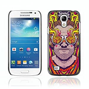 Designer Depo Hard Protection Case for Samsung Galaxy S4 Mini / Abstract Psychedelic Sunglasses