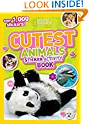 #4: National Geographic Kids Cutest Animals Sticker Activity Book: Over 1,000 stickers!
