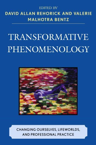 By David Allan Rehorick - Transformative Phenomenology