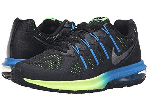 confirmar barajar musical  Buy Nike Air Max Dynasty Men s Premium Running Shoe BLACK/MTLC COOL  GREY/ELECTRIC GREEN 15 D(M) US at Amazon.in