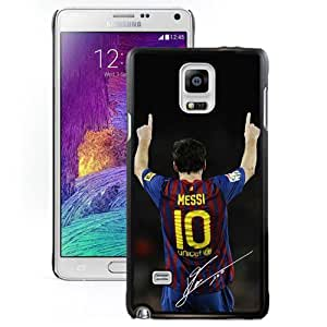 NEW Unique Design Soccer Player Lionel Messi 21 Samsung Galaxy Note 4 Cell Phone Case