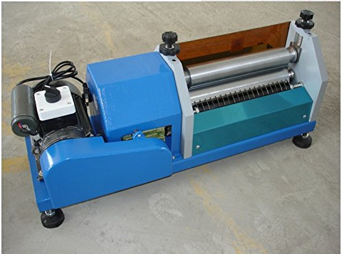 400mm (15.7 inch) Automatic Gluing Machine 40cm Glue Coating Machine for Paper, Leather (220V)