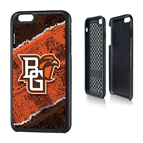 Bowling Green State iPhone 6 Plus & iPhone 6s Plus Rugged Case officially licensed by Bowling Green State University for the Apple iPhone 6 Plus by keyscaper® Durable Two Layer Protection Shock Absorbing (Apple Green Bowling Store)