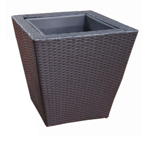 DMC Products 78379 22-Inch Vista Square Resin Wicker Planter from DMC Products