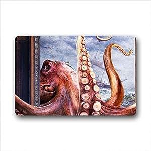 """Art Octopus Doormat Outdoor Indoor 18""""x30"""" about 46cmx76cm"""
