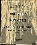 Une Visite Aux Grottes Du Jardin Exotique ( Dites de l'observatoire)