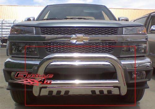 APS BB-CAK042S Chrome Bull Bar Bolt Over for select Chevrolet Trailblazer2002-2007 Models
