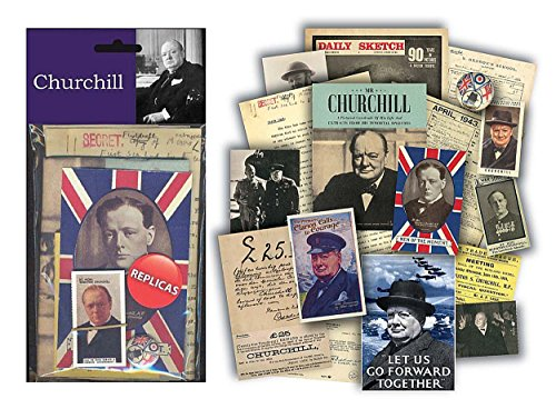 Churchill - Replica Memorabilia Pack (Memorabilia Postcard)