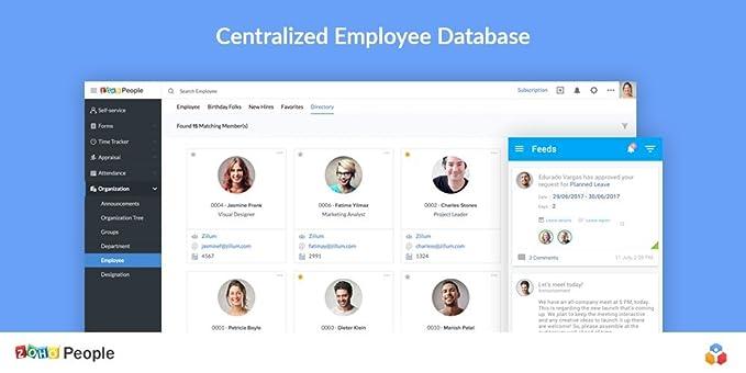 Amazon com: Zoho People [Enterprise Subscription]: Software