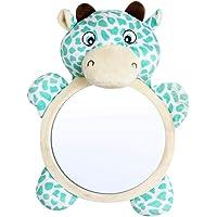 FANMURAN Asiento Trasero del Coche Ajustable Bebé Vista fácil Espejo Monitor Infantil para niños Bebé Espejos orientados hacia atrás Seguridad