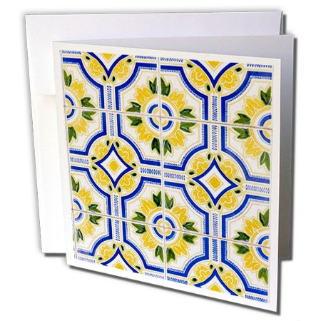 3dRose Portugal. Aveiro. Blue and Yellow Tilework, for sale  Delivered anywhere in Canada