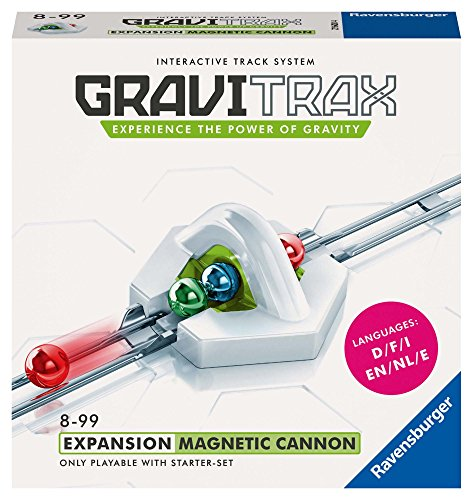 Ravensburger Gravitrax Magnetic Cannon Accessory - Marble Run & STEM Toy for Boys & Girls Age 8 & Up - Accessory for 2019 Toy of The Year Finalist Gravitrax
