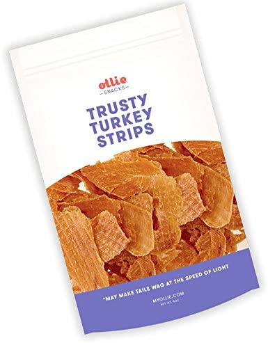 Ollie Tasty Strips 5 oz Dog Treat Jerky – All-Natural, 100 human-grade – Top-quality, Tasty Snacks, Grain Free – Promotes Overall Health