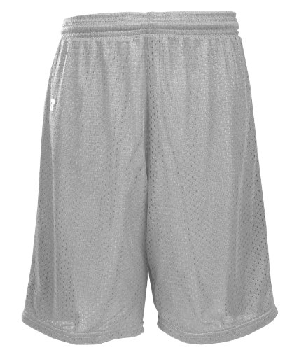 russell-athletic-big-boys-youth-mesh-short-gridiron-silver-x-large