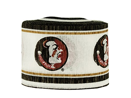 State Paper Seminoles Florida - JT Party Supplies Florida State Seminoles Crepe Paper Party Streamer-24 Pack
