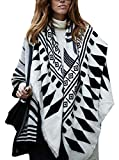 Generic Women's Boho Bohemian Soft Blanket Geometry Scarf Wraps Shawl Sheer Photo Color OS