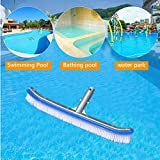 "Homga Swimming Pool Brush, 18"" Pool Brush,Nylon"