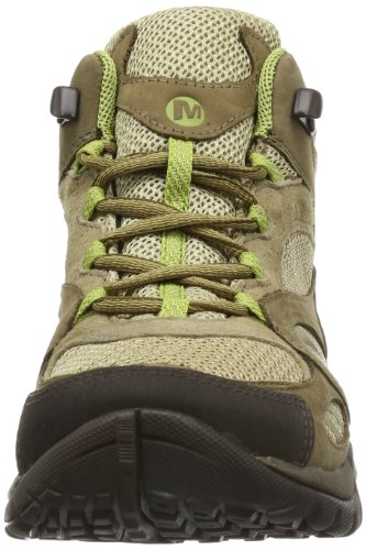 Merrell AZURA MID GTX - Zapatos de senderismo de cuero mujer beige - Beige (KANGAROO)