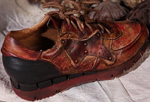 Donne Moda Rossa Sneaker Pelle In Laruise Delle XqTHZ