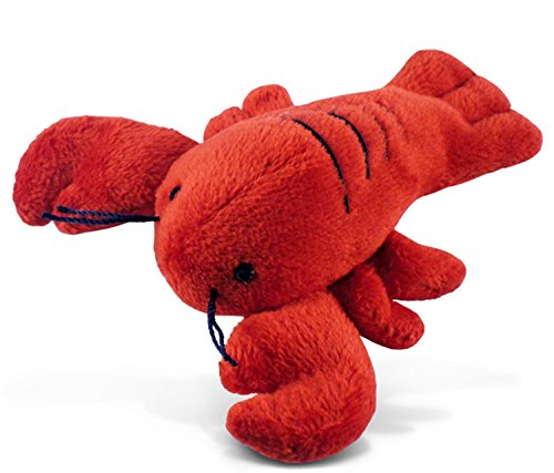 Puzzled Plush Magnet, Lobster -