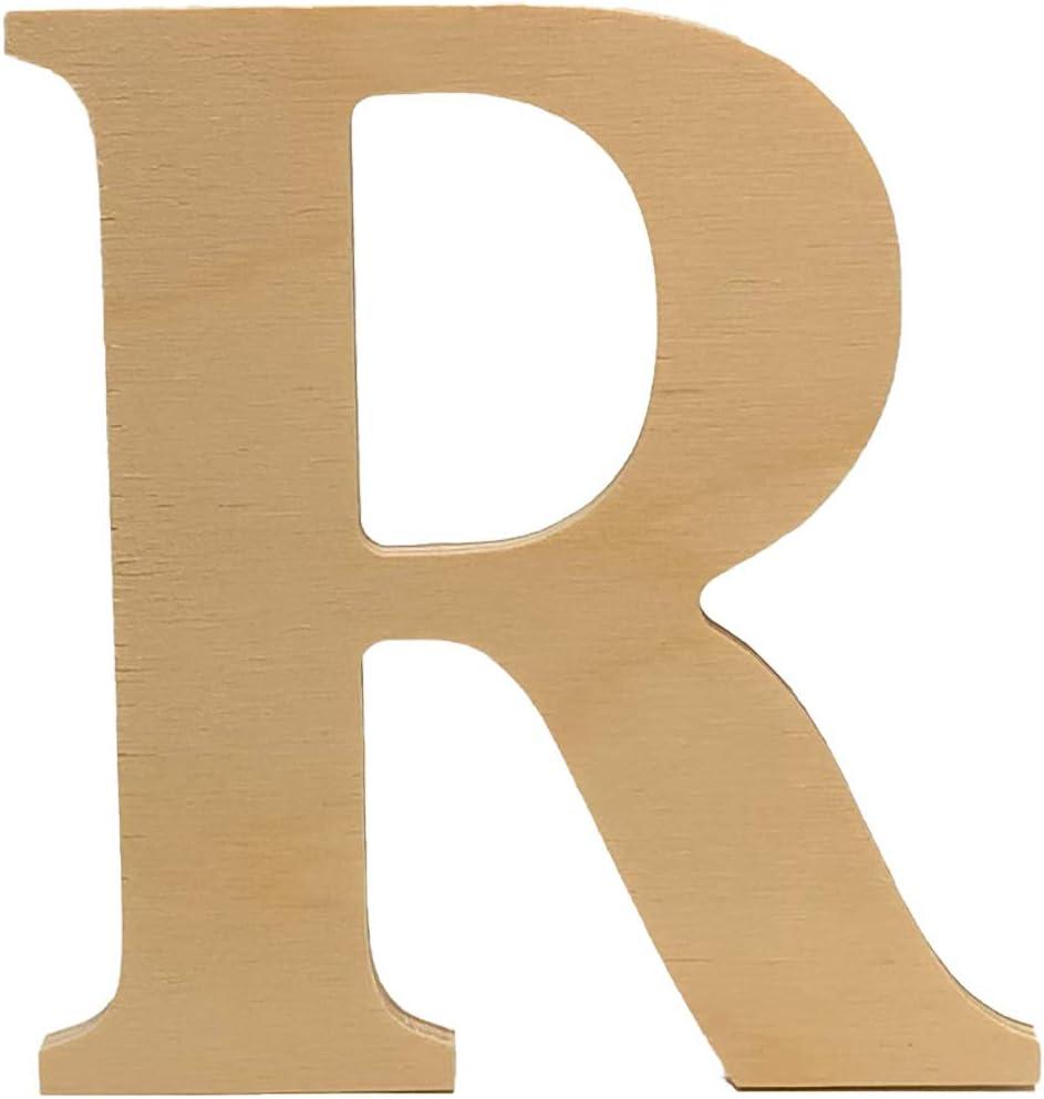Wooden Letter R. 4