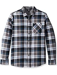 Men's Caden Plaid Long Sleeve Flannel Shirt
