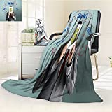 AmaPark Luminous Microfiber Throw Blanket Investment Currency forex Economy Trade Concept Glow in The Dark Constellation Blanket, Soft and Durable Polyester(60''x 50'')