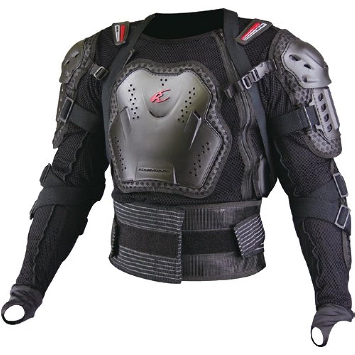 [해외] 코미네 KOMINE 오토바이 흉부 프로텍터 풀 아머드 바디 재킷 아우터 L 04-676 SK-676