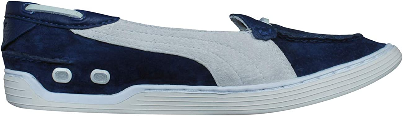 Womens Suede Leather Deck/Boat Shoes