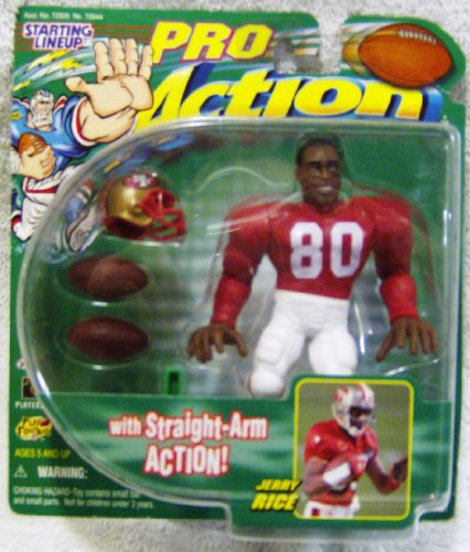 Starting Lineup Pro Action San Francisco 49ers Jerry Rice #8