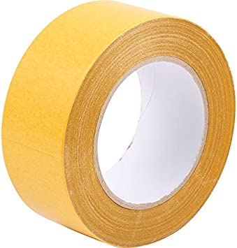Carpet Tape Double Sided Rug Tape Gripper for Carpets Wood Floors Rugs Edging Floor Tape by Virtue Retail