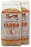 Bob's Red Mill Organic Farro (24 oz Bags) 2 Pack