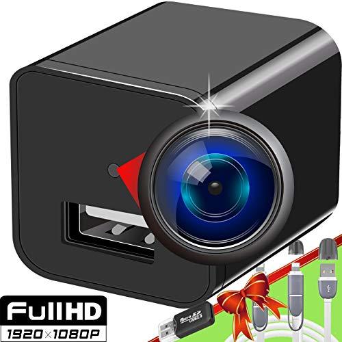 Spy Camera - Hidden Camera - Premium Pack - HD 1080P - Best Spy Charger - USB Hidden Camera - Hidden Spy Camera - Hidden Nanny Cam - Hidden Spy Cam - Hidden Cam - Full HD Surveillance Camera
