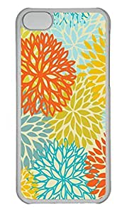 Personalized Custom Colorful 02 for iPhone 5C PC Transparent Case