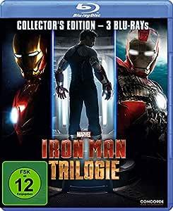 Iron Man - Trilogie [Blu-ray] [Importación Alemana]: Amazon.es ...