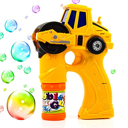 Toysery Engineering Bubble Shooter Gun | Automatic Bubbling | Comes with Light and Music | Endless Fun | Simple and Easy to Use | Best Gift for Kids | for Ages 3+