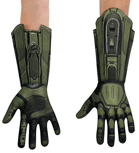 Deluxe Master Chief Gloves Costume Accessory ()