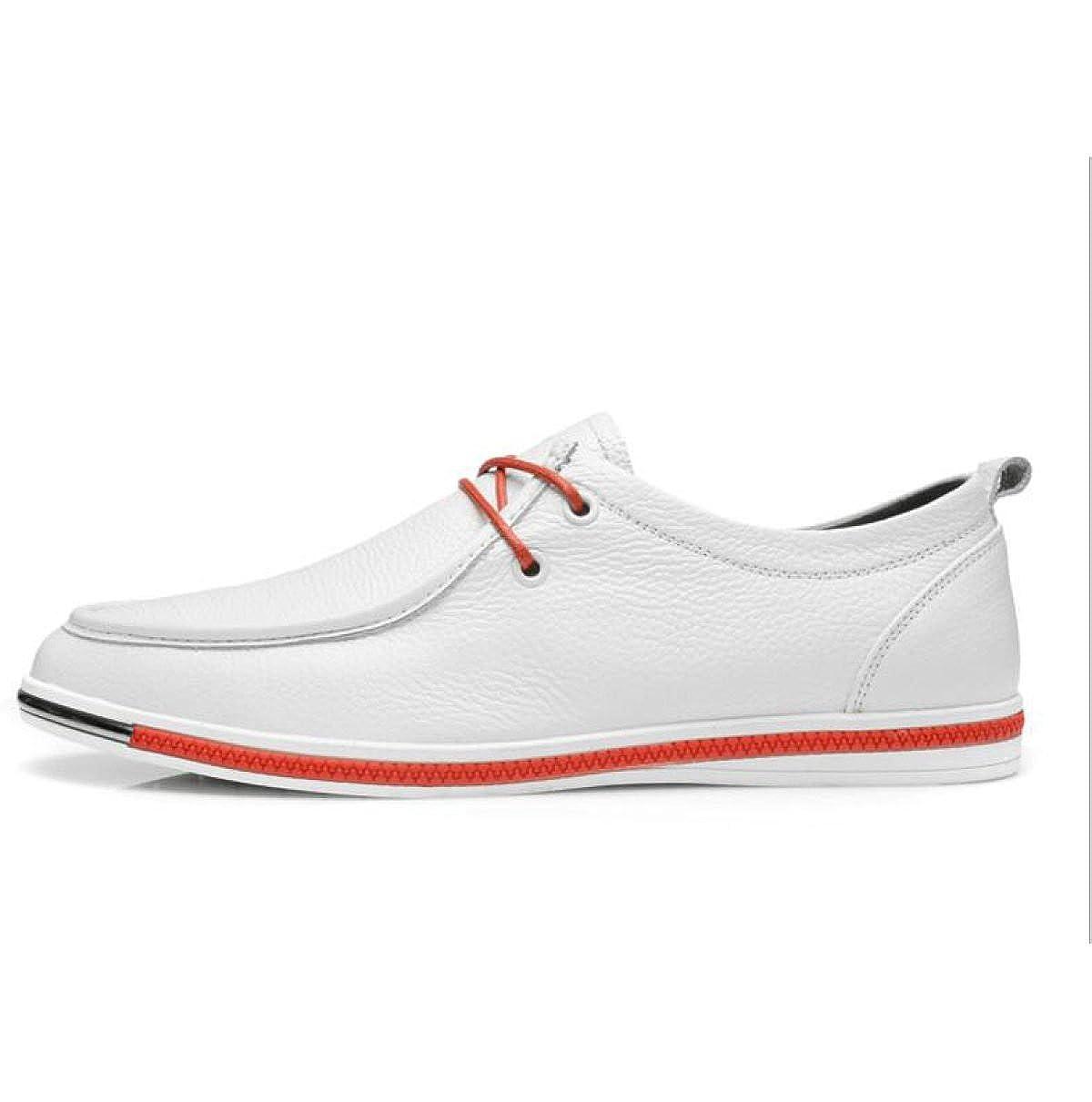 da6df24da6ca4 GTYMFH Zapatos De Cuero Hechos A Mano De Cuero De De De Encaje  C oacute modos Hombres Casual De Negocios Transpirables Zapatos De Hombre  21bc0e