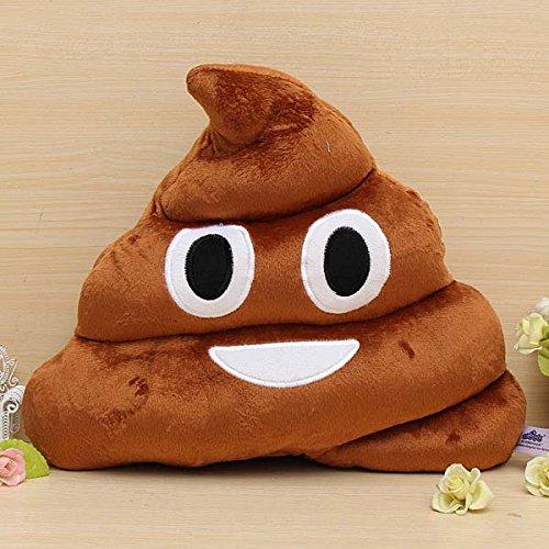 Funny Cotton Poo Shape Throw Pillow Home Office Car Cushion NAVA-17