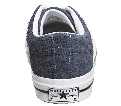 Converse Mænds Én Stjerne Ruskind Lav Top Sneakers Flåde NdACuM