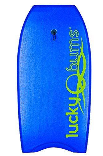 Lucky Bums Body Board with EPS Core, Blue - 41 Inches