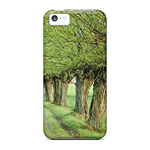 DaMMeke Fashion Protective Early Spring Central Pol Case Cover For Iphone 5c