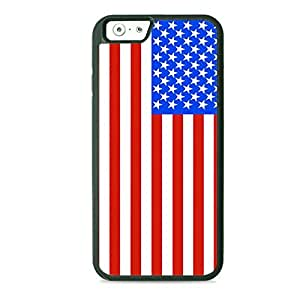 Case Fun Case Fun Flag of United States of America TPU Rubber Back Case Cover for Apple iPhone 6 4.7 inch