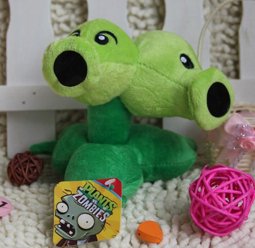 Plants vs Zombies 2 Plush Doll Headed Pea Shooter