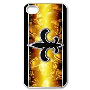 Custom New Orleans Saints Case for iPhone 4 4s
