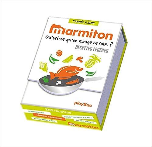 Année à Bloc - 365 recettes légères Marmiton