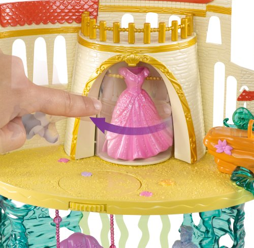Disney Princess The Little Mermaid Castle Playset | Toy in ...