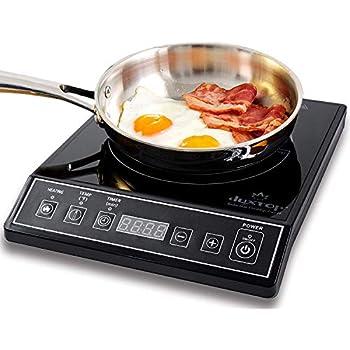 Amazon.com: DUXTOP 1800-Watt Portable Induction Cooktop Countertop on